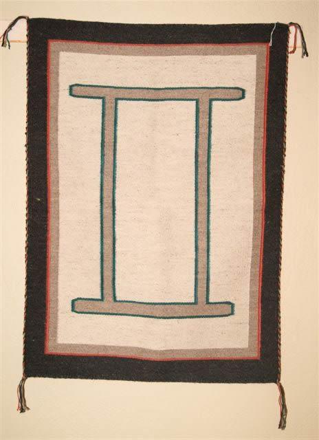 Custom Navajo Blanket With Gemini Symbol 314 Charley S