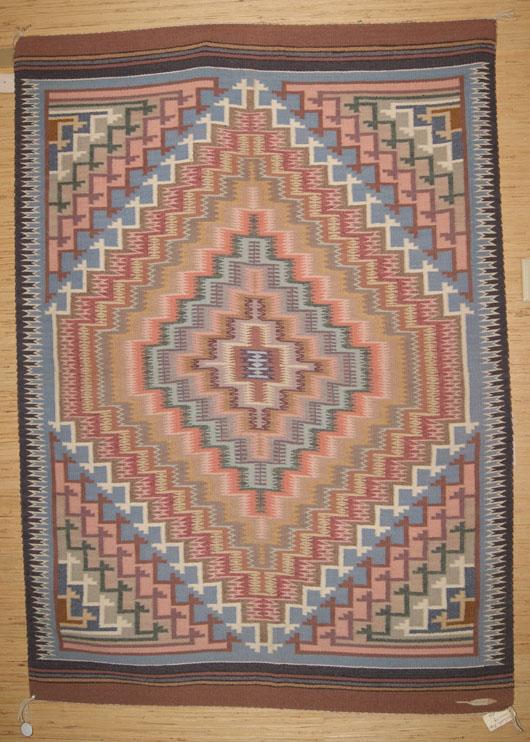 Burntwater Navajo Weaving For Sale 452 Charley S Navajo