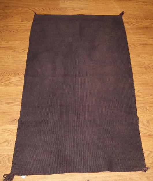 Hopi Double Saddle Blanket Made With Carpet 486 Charley