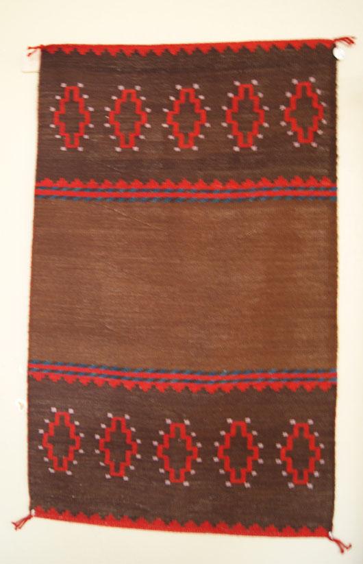 Navajo Dress Panel Weaving By Wilburton Begay 521