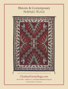 Native American Art Charley's Navajo Rugs for Sale August September 2017 Issue