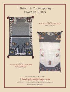 Native American Art Charley's Navajo Rugs for Sale October November