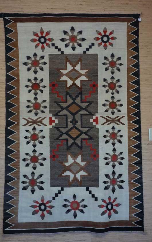 Bisti Navajo Rug Weaving 853 Charley S Navajo Rugs For Sale