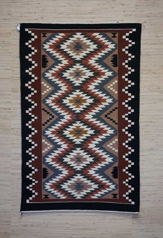 Eye Dazzler Navajo Rug 905 Charley S Navajo Rugs For Sale