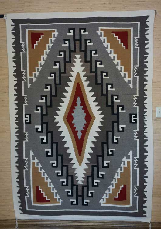 Chinle Navajo Rug 818 Charley S Navajo Rugs For Sale