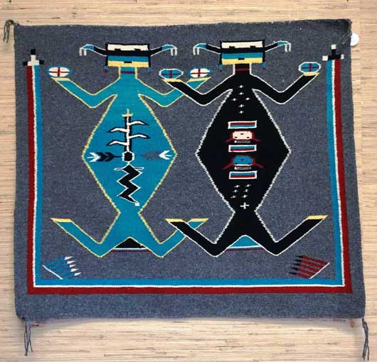 Mother Earth Father Sky Navajo Rug 958 Charley S Navajo