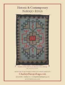 Native American Art Charley's Navajo Rugs December 2017 January 2018