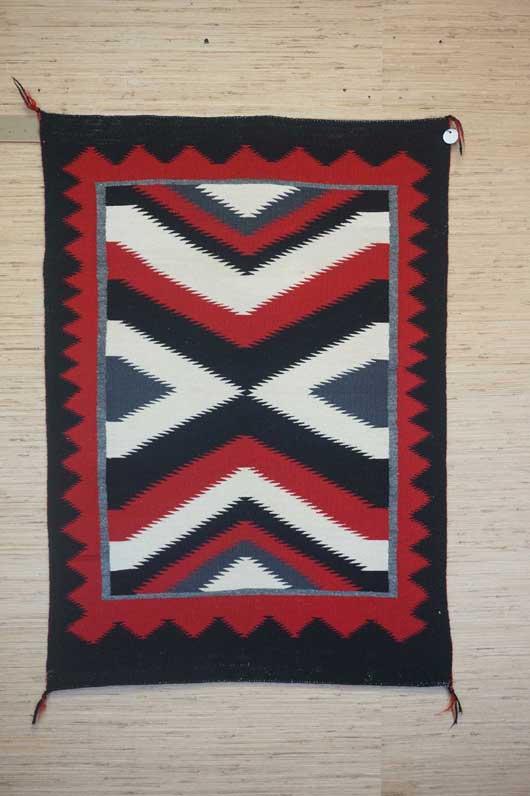 Navajo Saddle Blanket 1025 Charley S Navajo Rugs For Sale