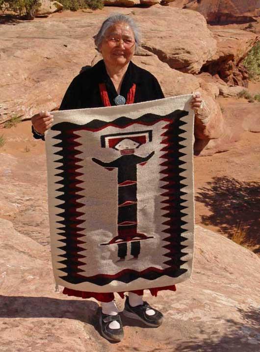 Navajo Hero Twin Born Of Water Rug 671 Charley S Navajo