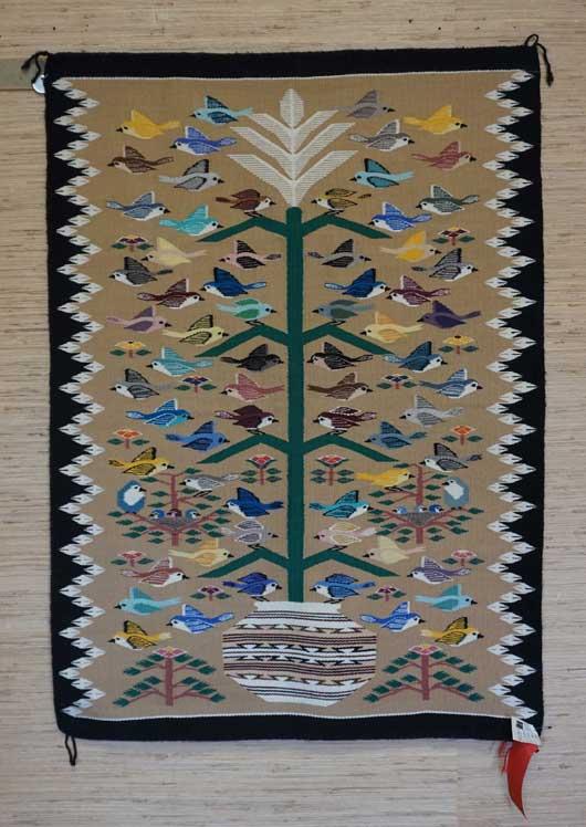Tree Of Life Navajo Weaving 1086 Charley S Navajo Rugs