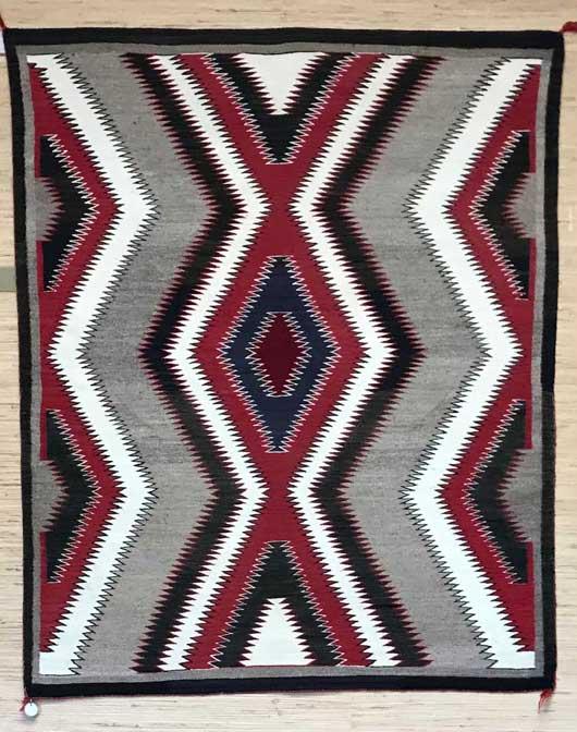 Antique Red Mesa Navajo Rug Charley's Navajo Rugs