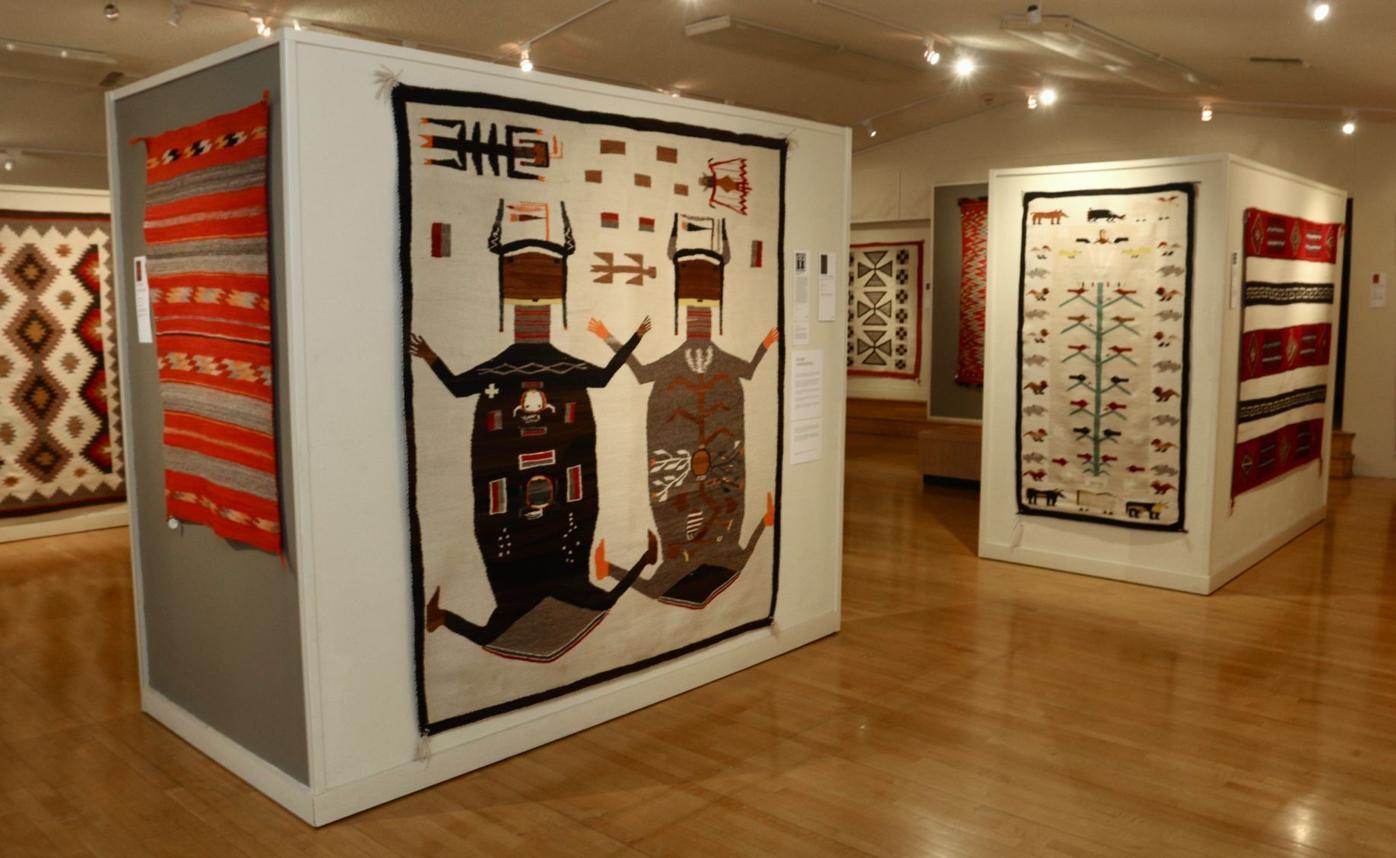 Charleys Navajo Rugs Exhibit Kings Art Center Hanford CA * Charley's Navajo Rugs for Sale